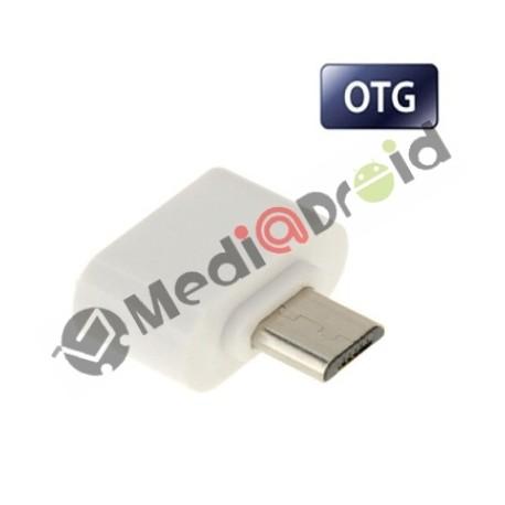 ADATTATORE USB FEMMINA MICRO USB FUNZIONE OTG PER SMARTPHONE E PENDRIVE