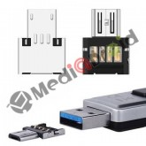 MINI ADATTATORE MICRO USB OTG PER SMARTPHONE TABLET PENDRIVE