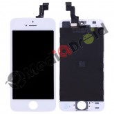 VETRO TOUCH SCREEN + DISPLAY LCD + FRAME PER IPHONE SE BIANCO