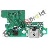 DOCK MICRO USB CONNETTORE RICARICA E DATI + MICROFONO PER HUAWEI P10 LITE