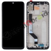 VETRO TOUCH SCREEN + DISPLAY LCD + FRAME PER XIAOMI REDMI NOTE 7 NERO