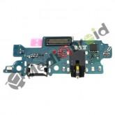 DOCK TYPE TIPO-C USB CONNETTORE RICARICA E DATI + MICROFONO + JACK CUFFIE PER SAMSUNG GALAXY M20 M205F