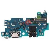 DOCK TIPO-C TYPE USB CONNETTORE RICARICA E DATI + MICROFONO + JACK CUFFIE PER SAMSUNG GALAXY A50S A507F