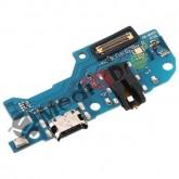 DOCK TYPE TIPO-C USB CONNETTORE RICARICA E DATI + MICROFONO + JACK CUFFIE PER SAMSUNG GALAXY M30 M305F