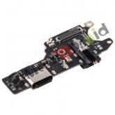 DOCK TIPO TYPE C USB CONNETTORE RICARICA E DATI + MICROFONO PER XIAOMI REDMI NOTE 9