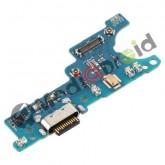 DOCK TIPO-C TYPE USB CONNETTORE RICARICA E DATI + MICROFONO PER SAMSUNG GALAXY A11 A115F