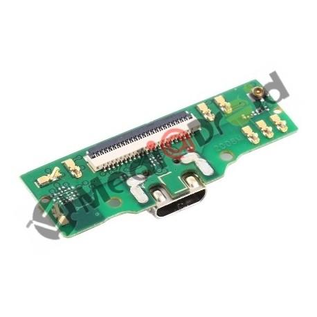 DOCK USB CONNETTORE RICARICA E DATI + MICROFONO PER SAMSUNG GALAXY TAB A (2019) 8.0 T290 T295
