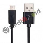 CAVO DATI MICRO USB NERO PER SINCRONIZZARE E CARICARE SMARTPHONE E TABLET