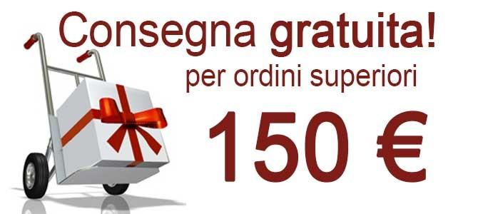 Consegna gratuita >150€